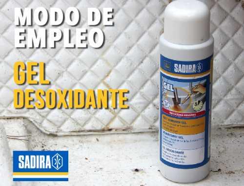 MODO DE EMPLEO – GEL DESOXIDANTE EN GELCOAT Y FIBRA DE VIDIRIO