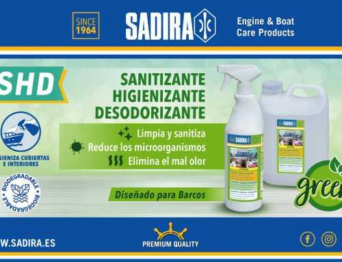 Sadira nuevo sanitizante | Revista Skippermar